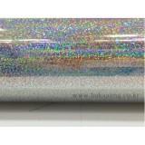 [배송제한]홀로그램시트지 - 은색(폭1m x 1m)