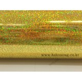 [배송제한]홀로그램시트지 - 금색(폭1m x 1m)